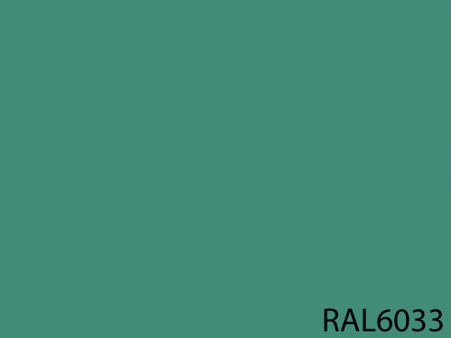 RAL 6033