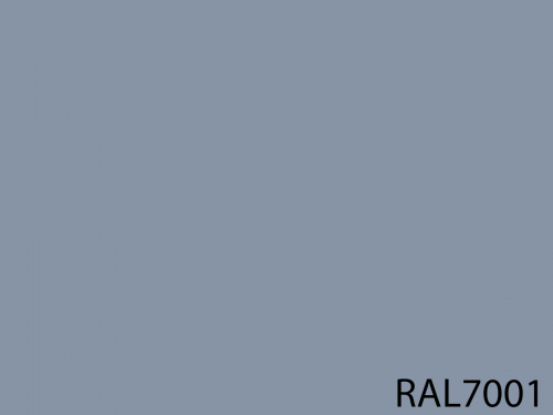 RAL 7001