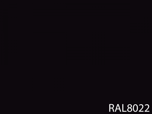 RAL 8022