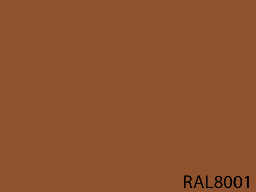 RAL 8001