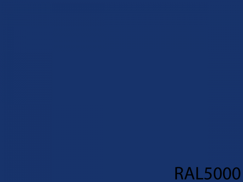 RAL 5000