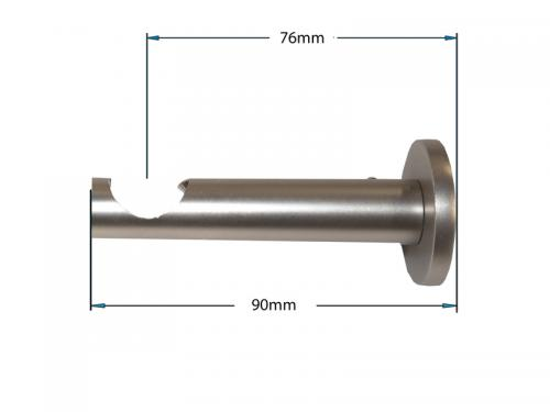 Garniža 19mm - 1rad - CYLINDER - satin